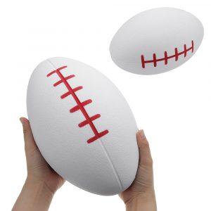 Enorma Squishy Rugby Fotboll 27,3 * 17,5cm Giant Kawaii Gullig Mjuk Långsam Rising Toy biltoon Present Collection
