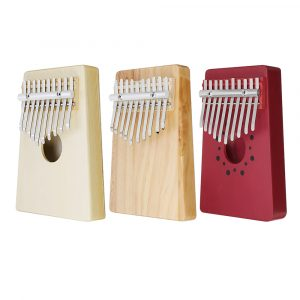 10 tangenter Kalimba Wooden Thumb Piano Finger Percussion
