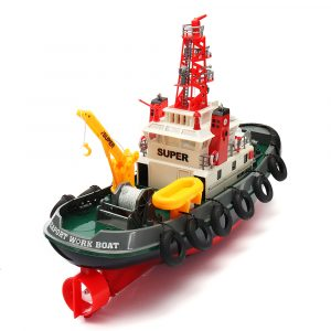 Henglong 3810 63CM 2.4G Long Time Control Racing RC båt med vattenkylsystem
