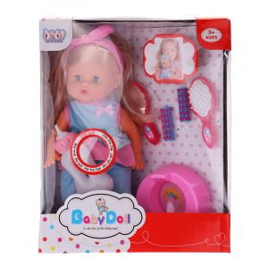 "12 ""Lifelike Baby Dockas Med Sound IC Sova Barn Baby Girl Toy For Present"
