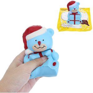 12,5cm Squishy julbjörn långsammare mjuk djur Squishy leksak gåva