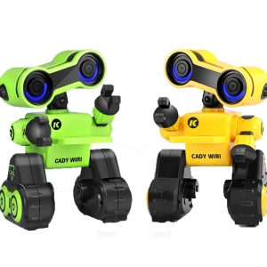 JJRC R13 CADY WIRI Smart RC Robot Programmerbar Touch Control Röstmeddelande Record Sing Dance Toy