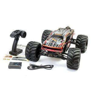 Radiostyrd RC Bil,JLB 2.4G Racing CHEETAH 1/10 Borstlös RC bil Monster Buggy 80A Lastbilar 11101 RTR Med Batteri