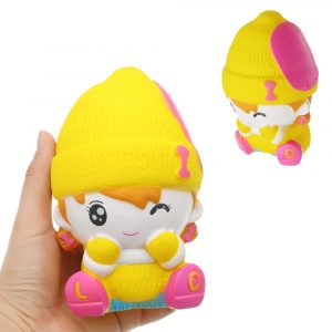 Snowman Girl Squishy Scented Squeeze Långsam Rising Toy Soft Present Collection Present