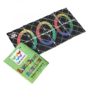 8 Panel 3 Ring Magic Folding Puzzle Leksaker Ghost Hand