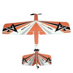 KEYI-UAV Hero 2.4G 4CH 1000mm PP Trainer RC Flygplan PNP