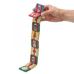 Jacobs Ladder Plastic Fidget Visuell stimulering Stress Sensory Leksaker för barn Barn Classic