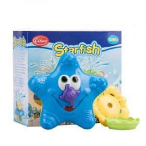 Cikoo Bath Leksaker för Baby barns Badkar Badrum Simbassäng Beach Electric Starfish Floating Water Leksaker
