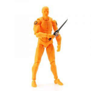 Figma 2.0 Deluxe Edition Orange Man Style PVC Action Figur Leksaker Collectible Model Dockas Toy