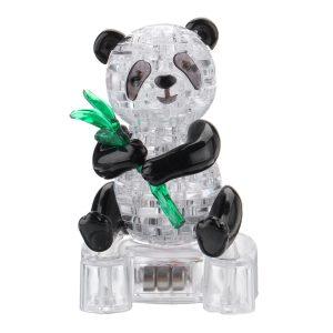 57st 3D Panda Kristall  Brock Pussel Leksaker