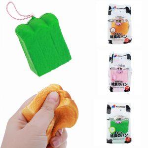 ZUO & OCH Squishy Milk Toast Långt stigande bröd doftande present med originalförpackning
