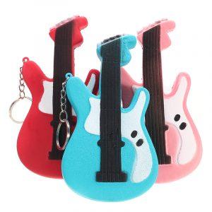 Squishy gitarr 13,5cm långsammare mjuk söt samling present inredning leksak