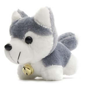 26cm 10.24 '' Husky Dog biltoon Doll Fyllda Plush barns barnren Toy Present House Decor
