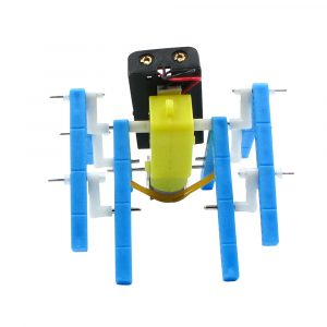 DIY Electric Eight legged Robot DIY Pedagogisk Toy Robot Assembled Toy för barn