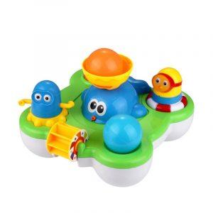 CIKOO baby fontän bad leksak för barn Douche barn elektrisk flytande spray vatten tecknad leksaker