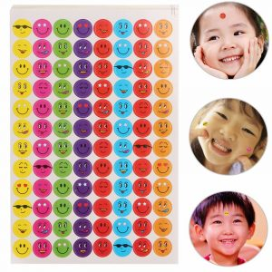 960st Mixed Expression Smiley Faces Reward Klistermärken För Skolelärare Beröm