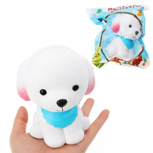 Kameleonvalp Squishy With Blue Sbilf 9cm långsammare med Packaging Collection Present Soft Toy