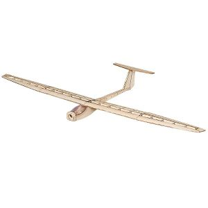 DW Wing Griffin 1550mm Wingspan Balsa Wood Glider Radiostyrda Flygplan KIT