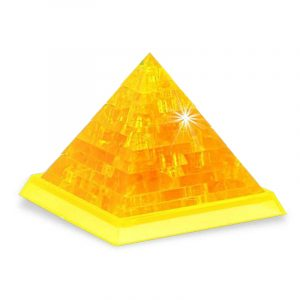 3D Pyramid Nyhet IQ Kristall Blockerar pussel leksak