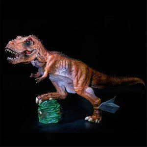 13 tums SNAEN Tyrannosaurus Rex KING T-REX PAINTED PVC Dinosaur Modell Åtgärd Figur