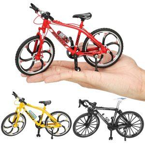 1:10 Diecast Kapplöpning Cross Mountain Bike Cykelmodell  Bygga   Decor Leksaker