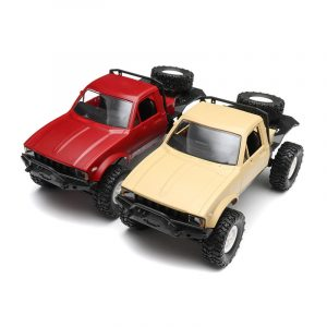 WPL C14 1/16 2.4G 4WD Off Road RC Militär Car Rock Crawler Truck Med Front LED RTR Leksaker