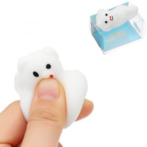 Mochi Squishy Sova Pig Squeeze Söt Healing Toy Kawaii Collection Stress Reliever Present Inredning