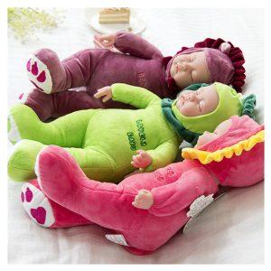 35cm Lifelike Reborn Baby Dockas Soft Nyfödd Girl Boy Silicone Realistic Vinyl