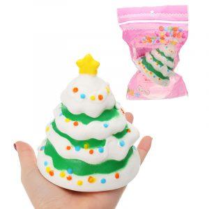 Julgran Fruktmodell Barnens Squishy Collection Present Decor Toy Original Förpackning