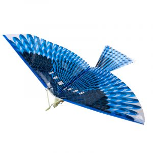 17.5Inches Bionics Eagle Flight Birds Assembly Flapping Wing DIY Modell Aircraft Plane Toy
