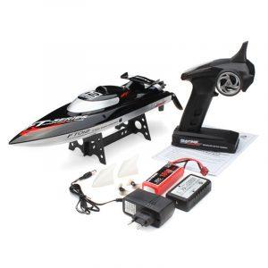FEILUN FT012 Uppgraderad FT009 2.4G 50KM / H Hastighet Brushless Racing RC båt för barnleksaker