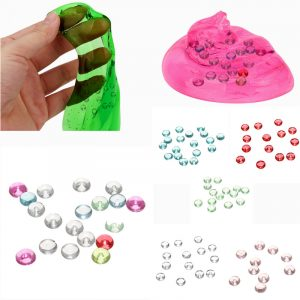 7mm PVC-bollar för DIY Slime Kit