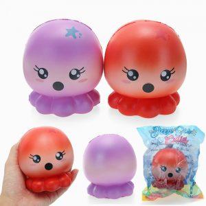 Cutie Creative Squishy Octopus 10cm långsammare  Collection Present Decor Toy