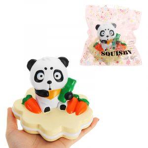 NEJ NEJ Squishy Panda 13,5 * 10cm långsammare med Packaging Collection Present Soft Toy