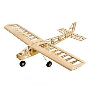 Cloud Dancer 1300mm Wingspan Trainer Balsa Laser Cut RC Flygplansbyggnadsmodell