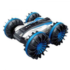 4WD Rc Stunt Bil 360 ° Rotation Amfibisk Vattentät Lastbil