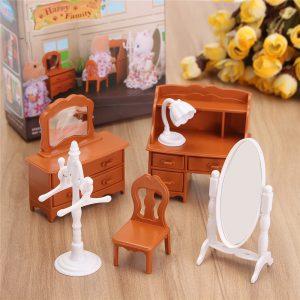 1:12 Simulation Dresser Set Spela House Props Dockhus Creative DIY Material