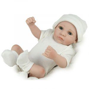 Docka Real Life Baby Dockas Full Vinyl Silicone Baby Docka Födelsedagspresenter