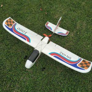 DN HXZ 1000 1000mm Wingspan EPP Trainer Nybörjare FPV RC Flygplan KIT