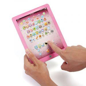 Engelska Language Ipad Learning Machine Tidiga barns pedagogiska leksaker