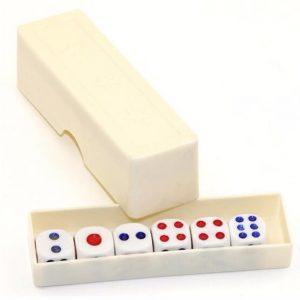 Magic Roliga Trick Prop Plast Dice Fun Present Leksaker För Barn Barn Present