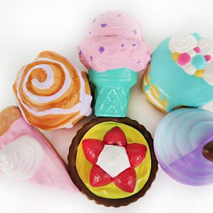 Cake Squishy Big Dessert 10cm Donuts Glass 16CM Pizza Bröd Jumbo Collection