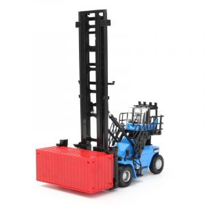 1/50 Diecast Tomma Container Stacker Gaffeltruck Bil Modell barns Toy