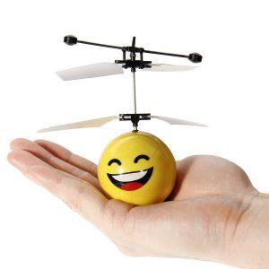 Hand Induction Flying Facial Expression Leksaker för barn