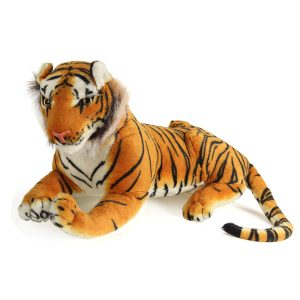 60cm Tiger DjurPlush Docka Cloth barns Simulation Stuffad Toy