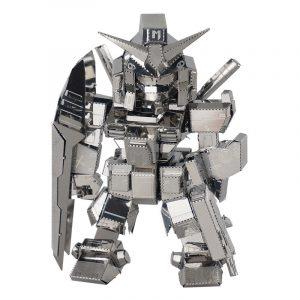 MU SOA-SD01 DIY 3D-robotpusselmodell Silverfärg 80 * 50 * 28mm