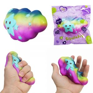 Cloud Squishy Toy 15 * 4 * 8cm långsammare med Packaging Collection Present Soft Toy