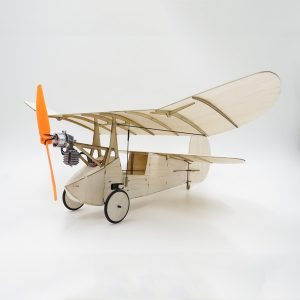 Flea Balsa Wood 358MM Wingspan Micro RC flygplan Newton Kit