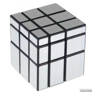 3x3x3 57mm Wire Drawing Style Spegel Magic Cube Challenge Gåvor Cubes Pedagogiska Toy