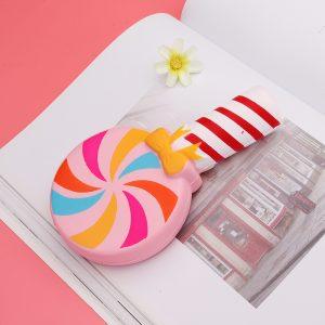 Lollipop Squishy Sweet Candy 15,5cm långsammare Toy Toy Decor med förpackning